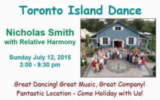 Toronto Island Dance 2015