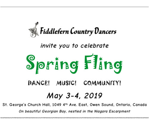 2019 Spring Fling in Owen Sound