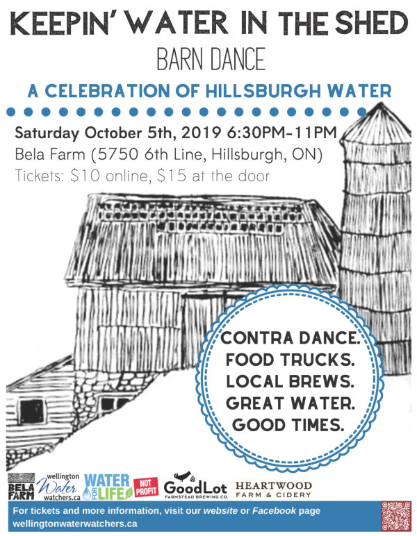 Wellington Water Watchers present: Keepin Water In The shed Barn Dance