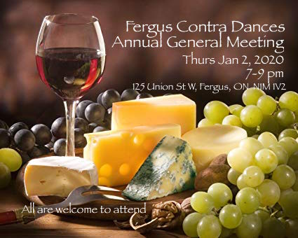 Drumlin Contra Dances 2020 AGM in Fergus